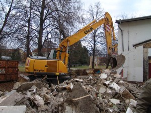 Umbau der Schule